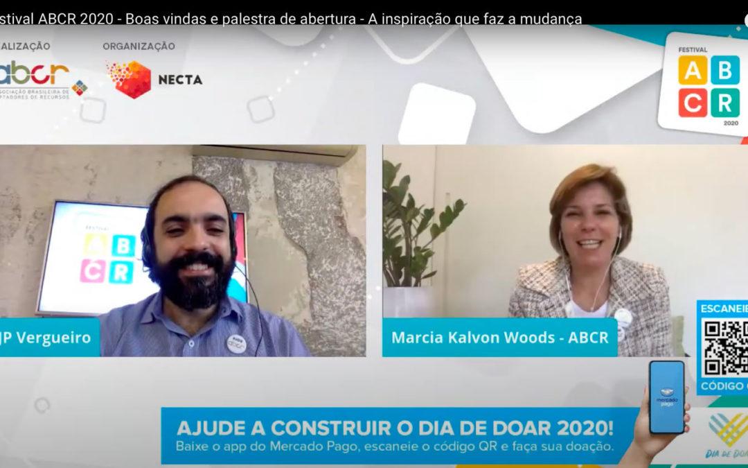 Edição histórica: Festival ABCR 2020 debate o futuro da captação de recursos no contexto da Covid-19, em edição online