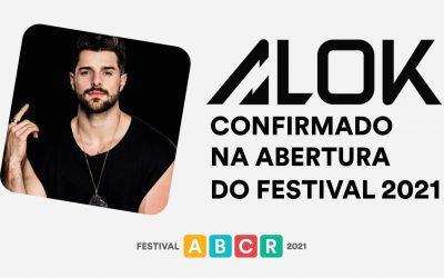 Alok será entrevistado na abertura do Festival ABCR